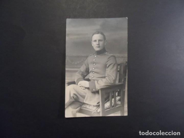 Militaria: SOLDADO IMPERIAL ALEMAN CON BAYONETA REGIMIENTO 103. II REICH.CHEMITZ-SAJONIA. AÑO 1918 - Foto 2 - 171055247