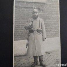 Militaria: SOLDADO IMPERIAL ALEMAN CON EQUIPO COMPLETO. II REICH. AÑOS 14-16. Lote 171058145