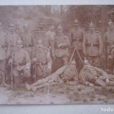 Militaria: FOTOGRAFIA MILITARES ALEMANES, 1ª GUERRA MUNDIAL. Lote 171130583