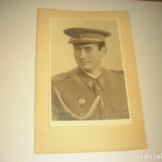 Militaria: ANTIGUA FOTO DE MILITAR. HERZBERG, ESTUDIO DE FOTOGRAFIA. SANTA CRUZ DE TENERIFE.. Lote 171134039