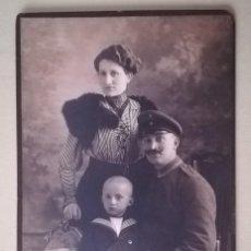 Militaria: FOTOGRAFIA FAMILIAR MILITAR ALEMAN , 1ª GUERRA MUNDIAL. Lote 171135479