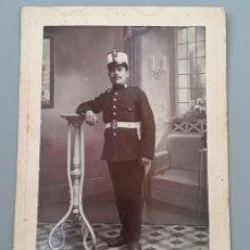 Militaria: FOTOGRAFIA MILITAR ESPAÑOL, ARTILLERIA, PRINCIPIOS SIGLO XX.FOTOGRAFIA R.SANZ, SEVILLA. Lote 171248329
