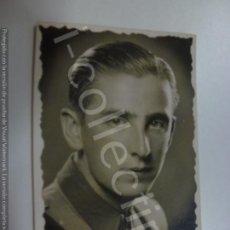 Militaria: FOTOGRAFÍA ANTIGUA. SOLDADO EN CAMPAÑA. NOVIEMBRE DE 1937. (5,8 CM X 3,8 CM).. Lote 171320830