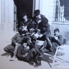 Militaria: FOTOGRAFÍA SOLDADOS DEL EJÉRCITO ESPAÑOL. DIVISIÓN ACORAZADA BRUNETE. Lote 171329007