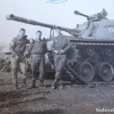 Militaria: FOTOGRAFÍA SOLDADOS DEL EJÉRCITO ESPAÑOL. DIVISIÓN ACORAZADA BRUNETE. Lote 171329114