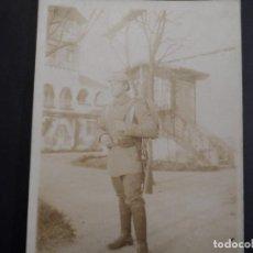 Militaria: SOLDADO IMPERIAL ALEMAN CON EQUIPO COMPLETO ANTES DE PARTIR. II REICH. AÑOS 14-16. Lote 171394629