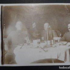 Militaria: OFICIALES IMPERIALES ALEMANES CONDECORADOS. CUMPLEAÑOS KAISER EN BOIRY ST. MARTIN.II REICH. AÑO 1917. Lote 171443524