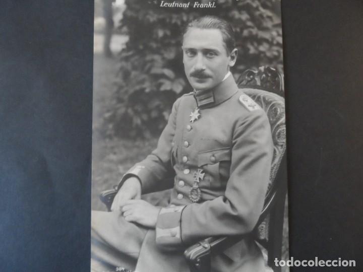 LEUTNANT WILHEIN FRANKL CRUZ POUR LE MERITE. JEFE 4 JASTA .DERRIBADO AÑO 1917.PILOTO JUDIO. II REICH (Militar - Fotografía Militar - I Guerra Mundial)