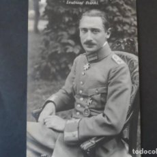 Militaria: LEUTNANT WILHEIN FRANKL CRUZ POUR LE MERITE. JEFE 4 JASTA .DERRIBADO AÑO 1917.PILOTO JUDIO. II REICH. Lote 171453308