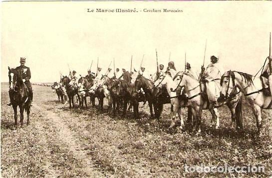 JINETES MARROQUÍES (Militar - Fotografía Militar - Otros)
