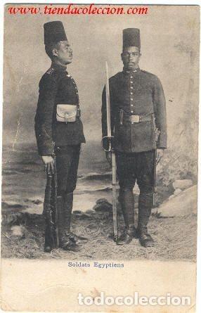 SOLDATS EGYPTYENS (Militar - Fotografía Militar - Otros)