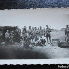 Militaria: FOTOGRAFIA MILITAR COCINA DE CAMPAÑA GUERRA CIVIL. Lote 171589525