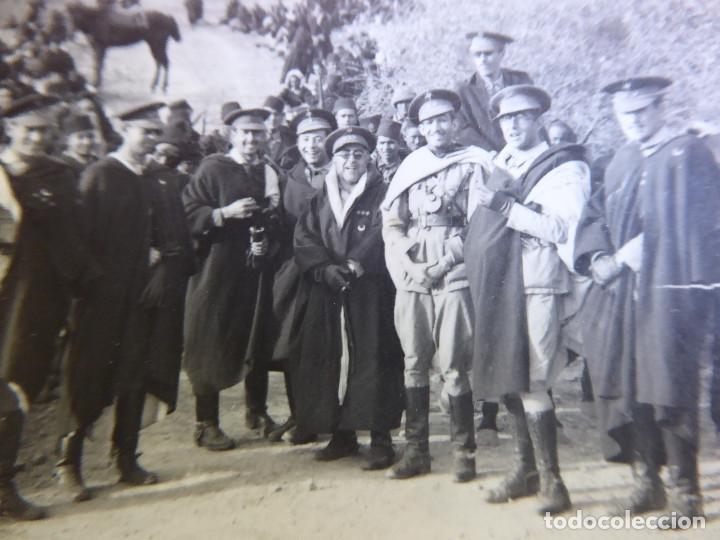 Militaria: Fotografía oficiales Regulares. Bed Dora 1942 - Foto 3 - 171603464