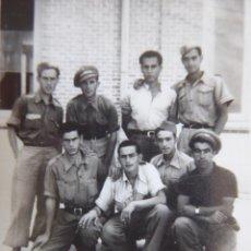 Militaria: FOTOGRAFÍA SOLDADOS DEL EJÉRCITO POPULAR DE LA REPÚBLICA. 1938. Lote 171603735