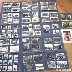 Militaria: LOTE FOTOS DE UN TTE. CORONEL DE INGENIEROS CON MAS DE 80 FOTOGRAFÍAS AÑOS 50-60 MANIOBRAS, JURA, ET. Lote 171688073
