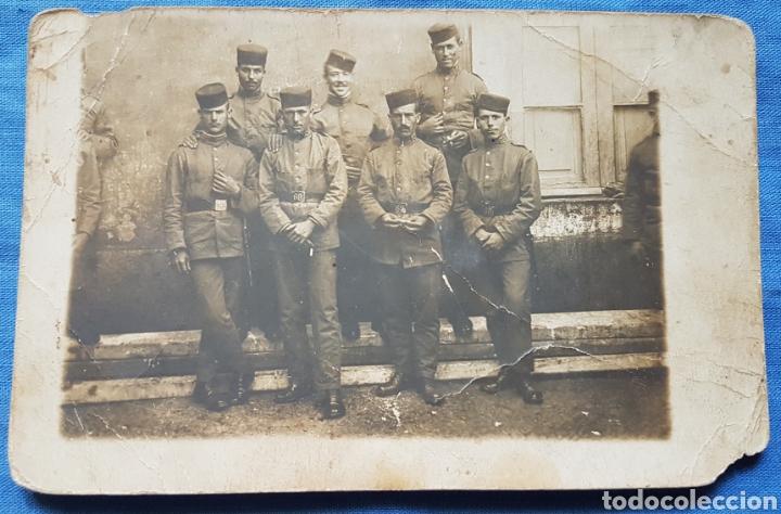 FOTO POSTAL SOLDADOS 69 REGIMIENTO (Militar - Fotografía Militar - Otros)