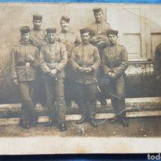 Militaria: FOTO POSTAL SOLDADOS 69 REGIMIENTO. Lote 171752300