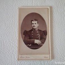 Militaria: FOTOGRAFÍA SIGLO XIX MILITAR FRANCÉS. Lote 171792488