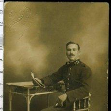 Militaria: FOTOGRAFIA MILITAR , SOLDADO MUSICO REGIMIENTO DE INAFANTERIA Nº 11, ALFONSO XIII. Lote 171811888
