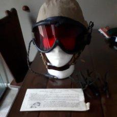 Militaria: GORRO DE VUELO USAAF WW2. Lote 171820394