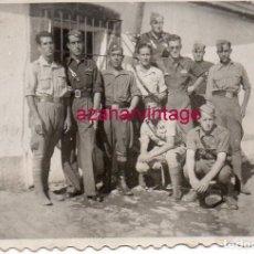 Militaria: GUERRA CIVIL, SOLDADOS EN EL FRENTE DE CORDOBA, 85X55MM. Lote 172046942