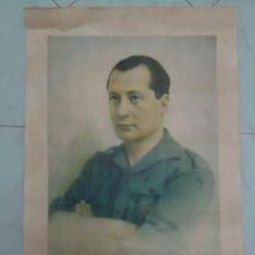 Militaria: RETRATO OFICIAL DE JOSE ANTONIO PRIMO DE RIVERA POR A. CORTES. PARA ESCUELAS, AYUNTAMIENTOS ETC.. Lote 172059013
