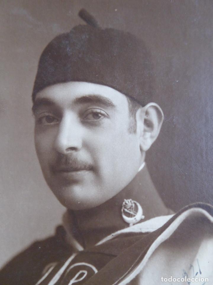 FOTOGRAFÍA ALFÉREZ REGULARES Nº 3. ALFONSO XIII MELILLA 1921 (Militar - Fotografía Militar - Otros)