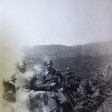 Militaria: FOTOGRAFÍA SOLDADOS DEL EJÉRCITO NACIONAL. SAN CLAUDIO MAYO 1937. Lote 172373257