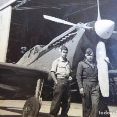 Militaria: FOTOGRAFÍA AVIÓN BUCHÓN HISPANO AVIACIÓN HA-1112.. Lote 172422023
