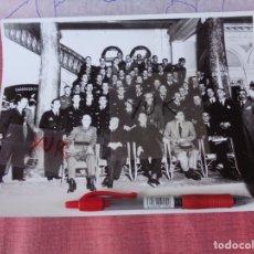 Militaria: RARA FOTO EN EL HOTEL NACIONAL 1935 - GIL ROBLES - GARCIA MORATO - FANJUL ... RECEPCION AVIACION. Lote 172463128