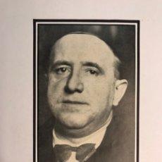 Militaria: VALENCIA Y LA REPÚBLICA, D. LUIS AMADO RINGODON. GOBERNADOR CIVIL (H.1930?) RECORTE FOTOGRÁFICO. Lote 172769149