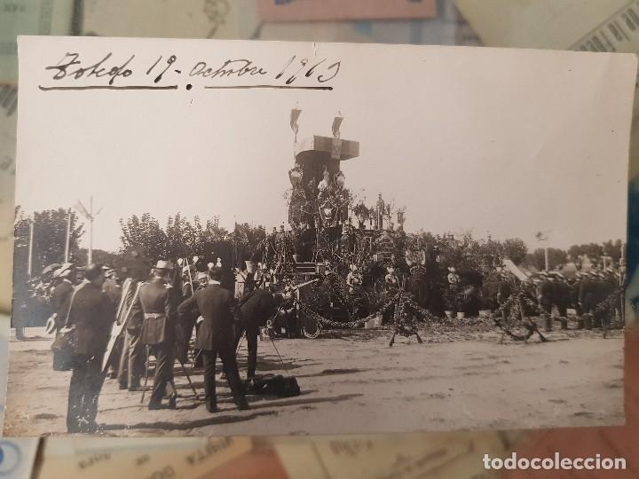 ANTIGUA FOTOGRAFIA MILITAR JURA DE BANDERAS ALUMNOS TOLEDO 19 (Militar - Fotografía Militar - Otros)
