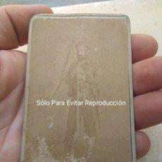 Militaria: FOTOGRAFÍA DE EZEQUIEL LLORENTE JERGÓN 2° JEFE DEL CABECILLA CARLISTA ROSA SAMANIEGO. Lote 172783785