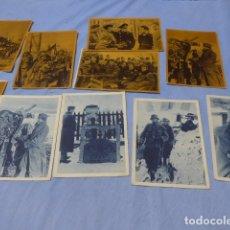 Militaria: * LOTE 10 ANTIGUAS POSTALES DE LA DIVISION AZUL, ORIGINALES, VARIEDAD. ZX. Lote 172881263