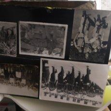 Militaria: 5 FOTOGRAFÍAS VARIAS DE MILITARES EN TENERIFE . Lote 172890149