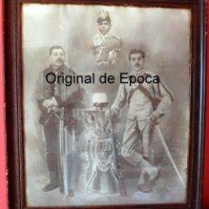 Militaria: (JX-190813)FOTOGRAFÍA DE SOLDADO DE PRIMERA DE CAZADORES DE TREVIÑO , CABALLERÍA .. Lote 173006239