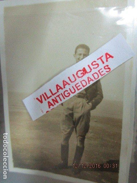 J MARIA LAMBEA LEGION OFICIAL COMANDANTE PILOTO FOTO ANTIGUA GUERRA CIVIL ESPAÑOLA (Militar - Fotografía Militar - Guerra Civil Española)
