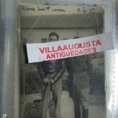 Militaria: JOSE MARIA LAMBEA PILOTO CONDECORADO CON MEDALLAS EN PLENA GUERRA CIVIL 1937 LEGION. Lote 172983628