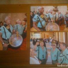 Militaria: FOTOGRAFIAS LEGIONARIOS VETERANOS. Lote 173150980