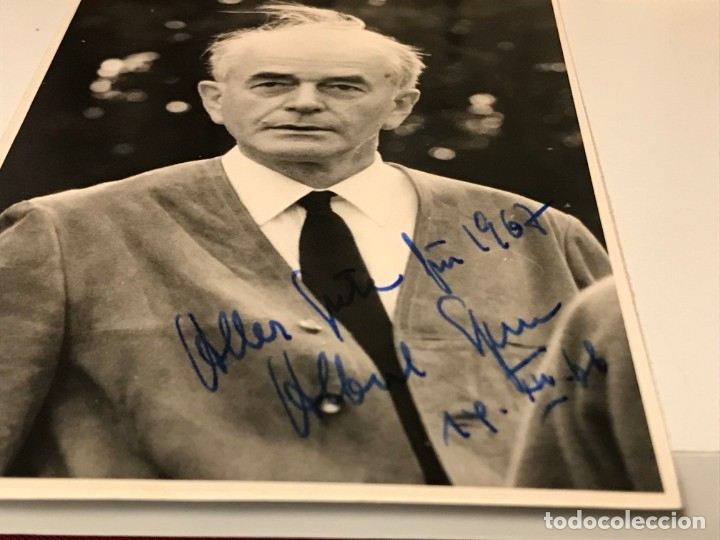 Militaria: Fotografía Albert Speer autografiada. Tercer Reich. Adolf Hitler, Fuhrer,nazi - Foto 4 - 194339313