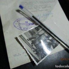 Militaria: AVIACION SECTOR 1ª REGION AEREA MADRID FOTO Y DOCUMENTO PILOTO TENIENTE EN GUERRA CIVIL. Lote 173388329