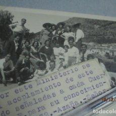 Militaria: AVIACION TENIENTE PILOTO AIACION INGENIEROS 1932 VALENCIA DOCUMENTO Y FOTO COMISARIA DE GUERRA. Lote 173389780