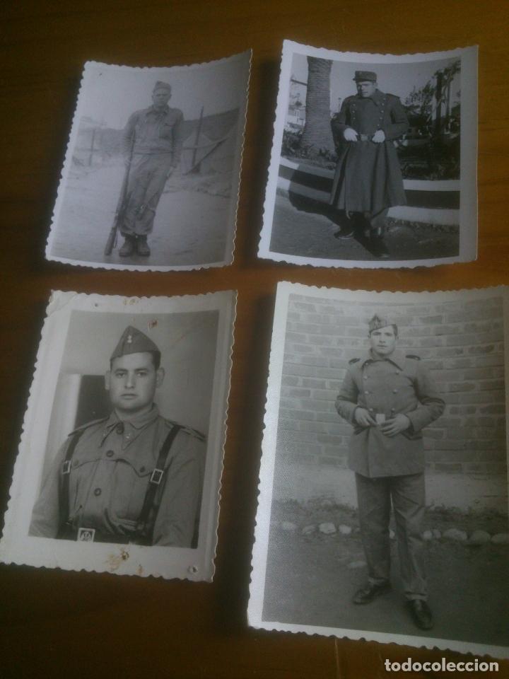 LOTE FOTOGRAFIAS SOLDADOS (Militar - Fotografía Militar - Otros)
