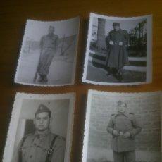 Militaria: LOTE FOTOGRAFIAS SOLDADOS. Lote 173402017
