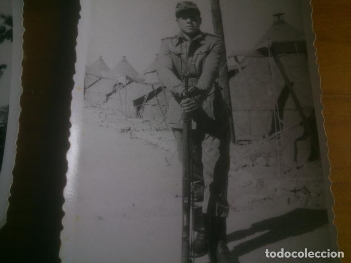 Militaria: LOTE FOTOGRAFIAS SOLDADOS CON ARMAMENTO - Foto 3 - 173402315