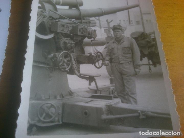 Militaria: LOTE FOTOGRAFIAS SOLDADOS CON ARMAMENTO - Foto 4 - 173402315