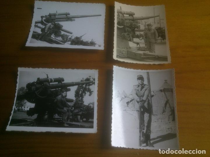 LOTE FOTOGRAFIAS SOLDADOS CON ARMAMENTO (Militar - Fotografía Militar - Otros)