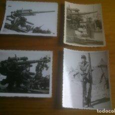 Militaria: LOTE FOTOGRAFIAS SOLDADOS CON ARMAMENTO. Lote 173402315