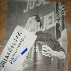 Militaria: CARTEL GRANDE JOSE ANTONIO PRIMO RIVERA MITIN ANTIGUO FALANGE MUY BIEN CONSERVADO. Lote 173505748