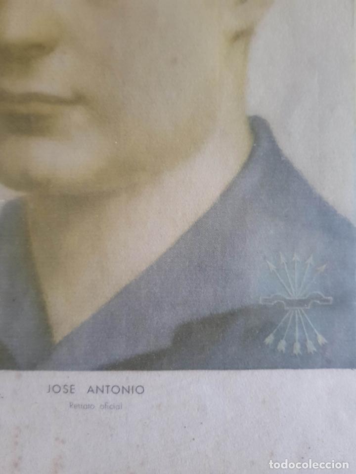 Militaria: JOSÉ ANTONIO PRIMO DE RIVERA. Retrato Oficial. - Foto 2 - 173515969